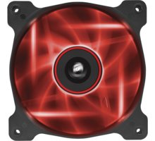 Corsair Air Series AF120 Quiet LED Red Edition, 120mm - CO-9050015-RLED