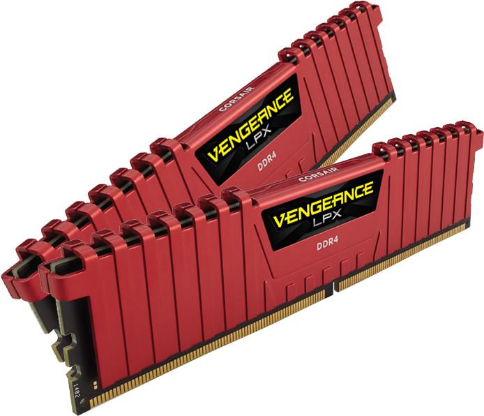 Corsair Vengeance LPX Red 8GB (2x4GB) DDR4 3200