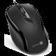 CONNECT IT Drátová optická myš, černá