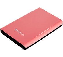 Verbatim Store'n'Go, USB 3.0 - 500GB, růžová - 53170