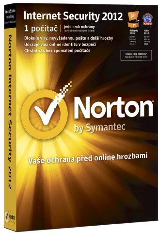 Symantec Norton Internet Security 2012 CZ Upgrade El. licence, 1 user, 24 měs.