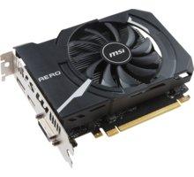 MSI GeForce GTX 1050 Ti AERO ITX 4 OC, 4GB GDDR5 - GTX 1050 Ti AERO ITX 4G OC