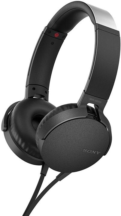 Sony MDR-XB550AP, černá