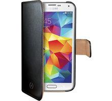 CELLY Wally pro Samsung Galaxy S5 mini, PU kůže, černá - WALLY422