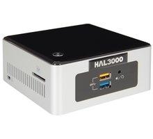 HAL3000 NUC Kit Celeron, černostříbrná - PCHS2122