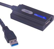 PremiumCord e-SATA adaptér s kabelem USB 3.0 - 8592220007805