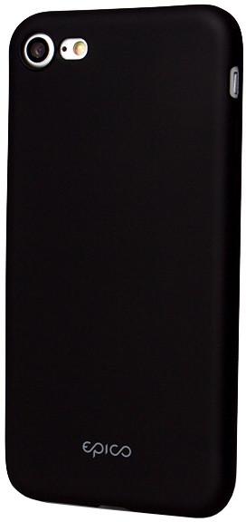 EPICO pružný plastový kryt pro iPhone 7 EPICO GLAMY - černý
