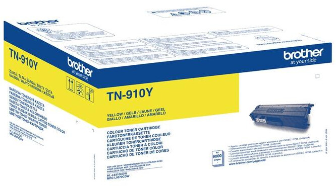 Brother TN-910Y, yellow