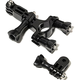 SJCAM Bike Handlebar / Seatpost Clamp withThree-way Adjustable Pivot Arm