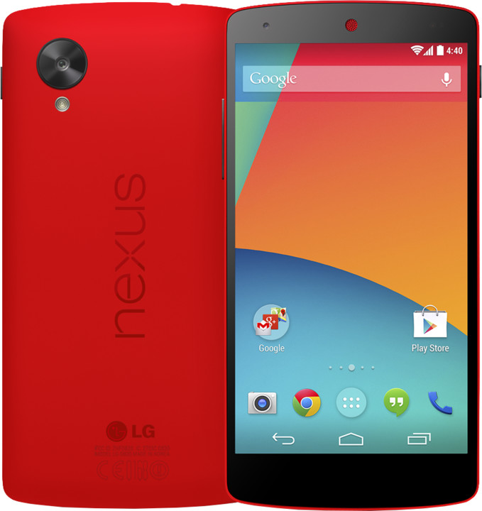 LG nexus 5 - 16GB, červená