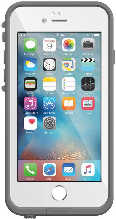 LifeProof Fre pouzdro pro iPhone 6/6s, odolné, bílá