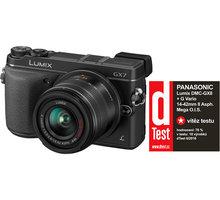 Panasonic Lumix DMC-GX8, černá + objektiv 14-42mm - DMC-GX8KEG-K