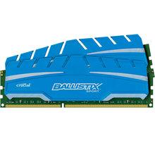 Crucial Ballistix Sport XT 16GB (2x8GB) DDR3 1600 CL 9 - BLS2C8G3D169DS3CEU