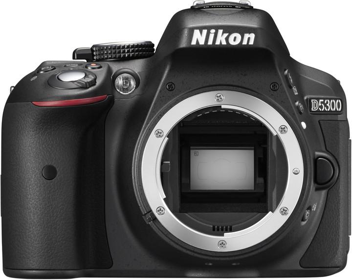 Nikon D5300, tělo černá