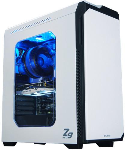 Zalman Z9 Neo, bílá