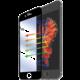 CELLY ochranné tvrzené sklo Glass pro Apple iPhone 6/6S - černá