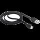 Trust Flat Micro-USB kabel 1m, černá