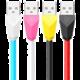 Remax Alien datový kabel s lightning, 1m, bílo-růžová