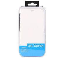 DooGee X9/X9 PRO Flip Case + Screen Protector Glass, bílá - ACCDG026