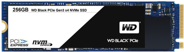 WD Black, M.2 2280 - 256GB