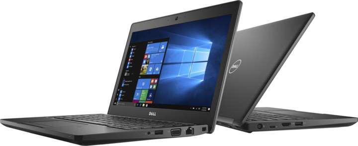 Dell Latitude 12 (5280), černá