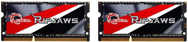 G.SKill Ripjaws 16GB (2x8GB) DDR3 1600 CL9 SO-DIMM