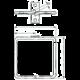 Solarix vyvazovací háček D1 80x80mm