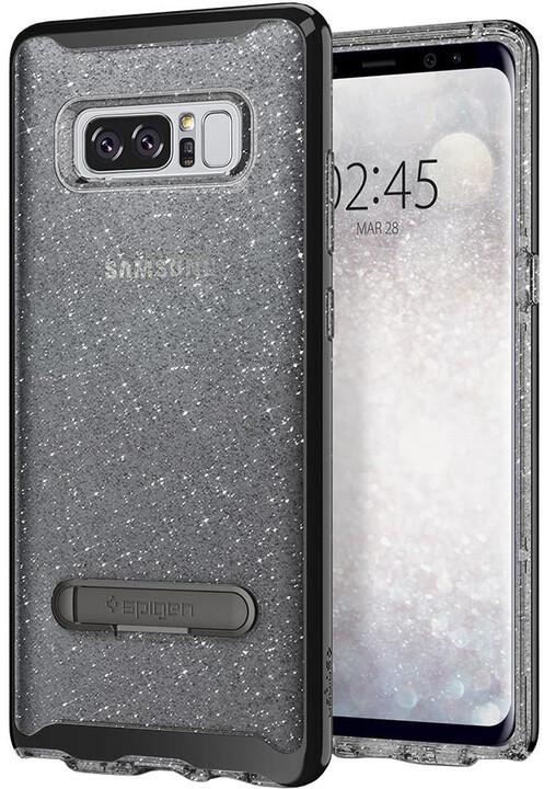 Spigen Crystal Hybrid Glitter pro Galaxy Note 8, space
