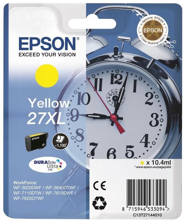 Epson C13T27144010, žlutá