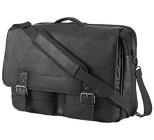 "HP Executive Leather Messenger Case 14"", černá - K0S31AA"