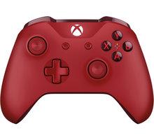 Microsoft Xbox ONE Gamepad, bezdrátový, červený (XONE S) - WL3-00028