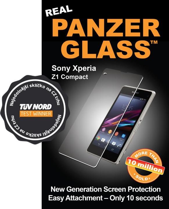 PanzerGlass ochranné sklo na displej pro Sony Xperia Z1 Compact