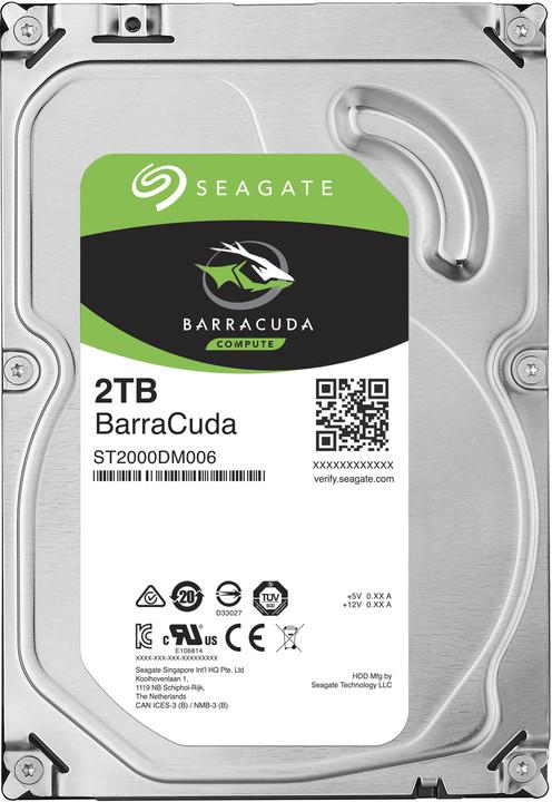 Seagate BarraCuda - 2TB