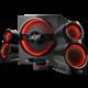 Ravcore Trident, 2.1, herní, červená