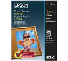 Epson Photo Paper Glossy, 10x15 cm, 500 listů, 200g/m2, lesklý - C13S042549