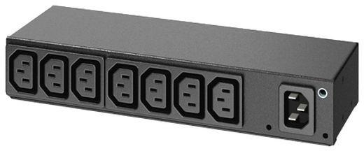 APC rack PDU, 0U/1U, 120-240V/15A, 220-240V/10A, (8) C13