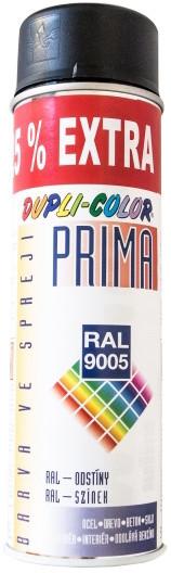 4X BARVA RAL 9005