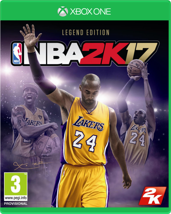 NBA 2K17 Legend Edition (Xbox ONE)