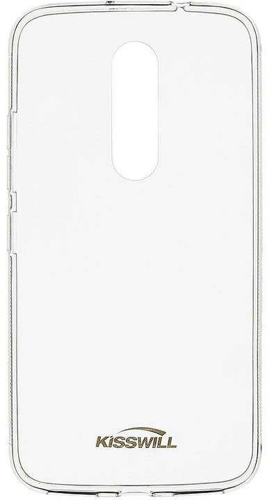 Kisswill TPU pouzdro pro Lenovo Moto M, transparentní