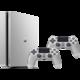 PlayStation 4 Slim, 500GB, stříbrná + 2x DS4  + Hra Horizon: Zero Dawn v ceně 1700 kč
