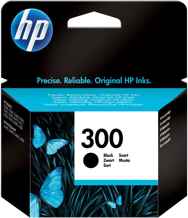 HP CC640EE, no.300, černá