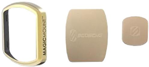 Scosche výměnný rámeček, magnetické štítky, zlatý