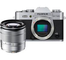 Fujifilm X-T20 + XC 16-50mm, stříbrná - 16542945