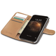 CELLY pouzdro Wally pro Microsoft Lumia 950 XL, PU kůže, černá