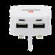 Skross USB nabíjecí adaptér UK, 2100mA, 2x USB výstup