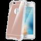 CELLY Armor zadní kryt pro Apple iPhone 7, se zrcadlovým efektem, růžovozlaté