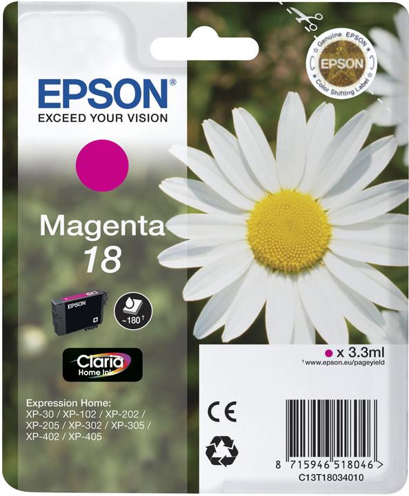 Epson C13T18034010, magenta