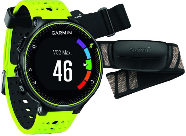 GARMIN Forerunner 230 HR Premium, žlutá