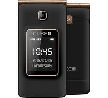 Cube 1 VF200, černo/zlatá - MTOSCUVF20050