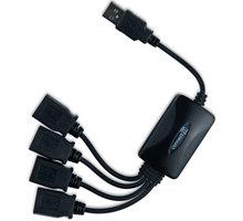 CONNECT IT CI-50 USB 2.0 hub FLEXIBLE se 4 porty